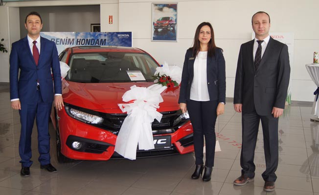 Yeni Civic RS Honda Meroto'da