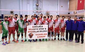 Sungurlu, Play-Off aşkına: 3-0